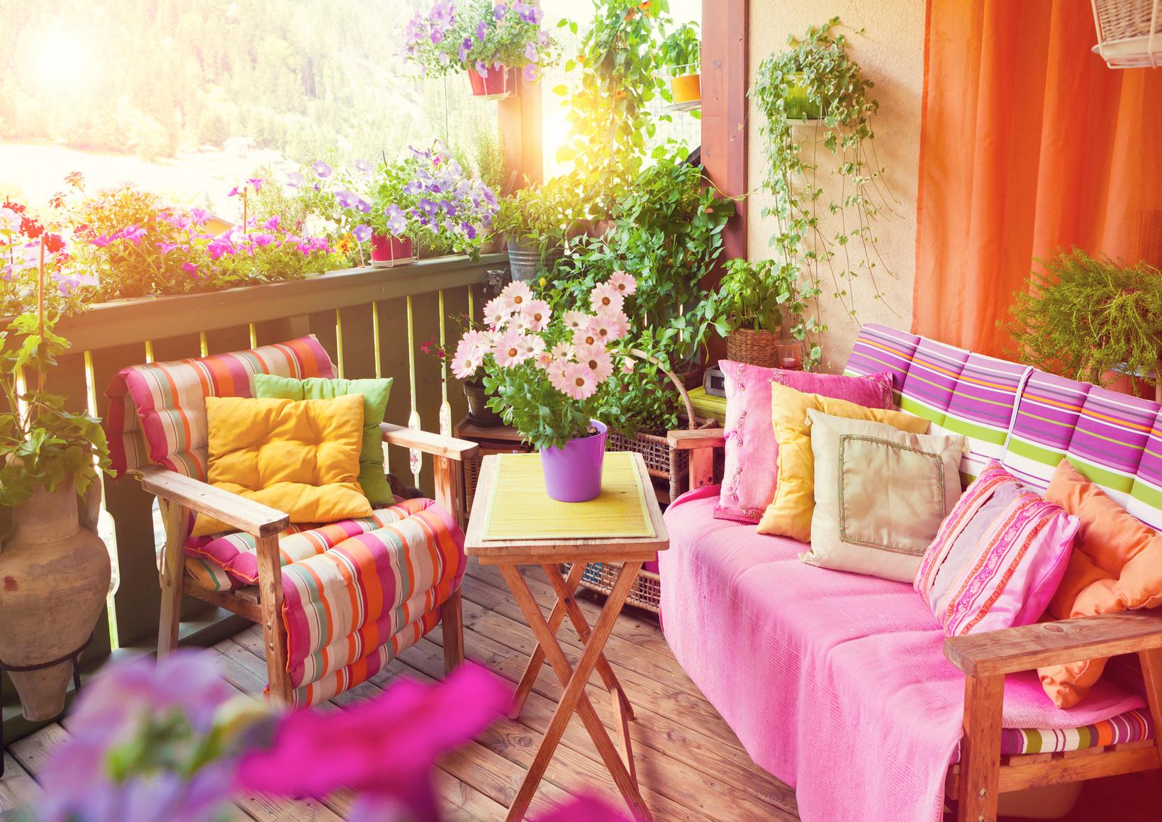 Der schöne Balkon – Ideen und Tipps zum Selbermachen - Farbe erleben